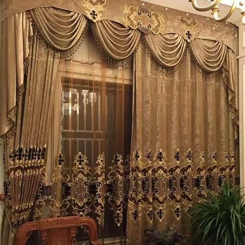 布藝遮光窗簾